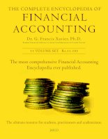 The most comprehensive Financial Accounting Encyclopedia ever published. pot
