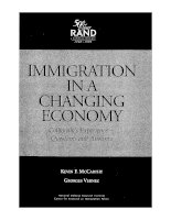 Immigration In A Changing Economy docx