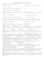 45 bài tập ĐIỆN PHÂN  ĂN MÒN ĐIỆN HÓA
