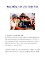 Học Tiếng Anh Qua Phim Ảnh potx