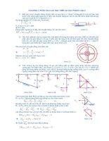 Giải bài tập nguyên lý máy - chương 3