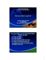 bài giảng đầu tư quốc tế chương 8 - gv.nguyễn thị việt hoa