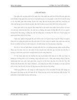 LUẬN VĂN CÔNG NGHỆ THỰC PHẨM KHẢO SÁT QUY TRÌNH CÔNG NGHỆ SẢN  XUẤT BIA ĐEN