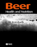 Beer Health and Nutrition pptx