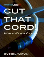 Cut That Cord! How To Ditch Cable
