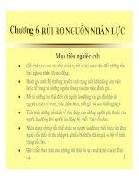 bài giảng quản trị rủi ro - chương 6 - rủi ro nguồn nhân lực