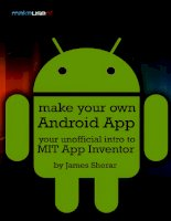 Make Your Own Android App: Your Unofficial Intro To MIT App Inventor