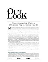 Violence Against Women: Effects on Reproductive Health potx