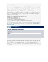 Chuẩn W3C là gì? pptx
