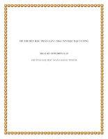 ĐỀ THI HẾT HỌC PHẦN LẦN 1 Môn: TIN HỌC ĐẠI CƯƠNG Mã số đề: IT0010809.11.10 TRƯỜNG ĐẠI HỌC NGÂN HÀNG TPHCM1 pptx