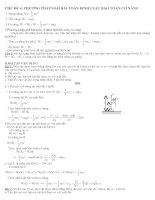 chủ đề 4. phương pháp giải bài toán định luật bảo toàn cơ năng
