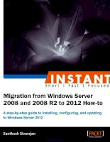Migration from Windows Server 2008 and 2008 R2 to 2012 How-to doc
