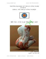 Luận văn:Câu lạc bộ Body art pdf