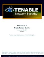 Nessus 4.4 Installation Guide doc