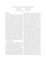 Efficient Data Structures for Tamper-Evident Logging ppt