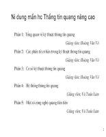 Bài giảng thông tin quang nâng cao - Phan 2 pptx