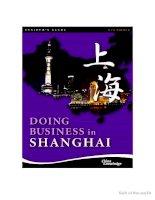 Doing business in Shanghai pdf