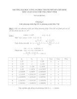 Chương 2 Giải phương trình Đại Số và phương trình Siêu Việt pot