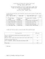 đề thi thực hành tốt nghiệp khóa 3 - kỹ thuật máy lạnh và điều hòa không khí - mã đề thi ktml - đhkk - th (11)