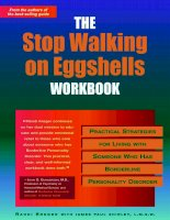THE Stop Walking on Eggshells WORKBOOK pdf