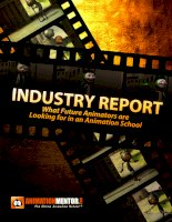 INDUSTRY SURVEY - What future animators say about what they are looking for in a school, and what professional animators say are the most important things to look for. ppt