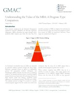 Understanding the Value of the MBA: A Program Type Comparison pdf