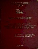 quy chế pháp lý về giấy chứng nhận xuất xứ hàng hoá và thực tiễn áp dụng ở việt nam
