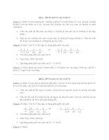 Tổng hợp các đề thi giữa kỳ môn Xác suất thống kê - K6-Vạn Xuân