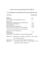 Indian Accounting Standard (Ind AS) 27 Consolidated and Separate Financial Statements potx