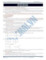 Bài 4. Liên kết Hóa học ( Vũ Khắc Ngọc - LTĐH đảm bảo - Hocmai.vn)