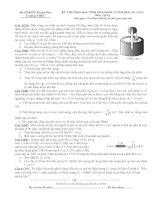 Đề thi học sinh giỏi vật lý tỉnh thanh hóa đề 8