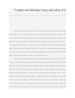 Ý nghĩa của tình bạn trong cuộc sống số 4 pdf