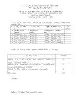 đề thi thực hành tốt nghiệp khóa 3 - kỹ thuật máy lạnh và điều hòa không khí - mã đề thi ktml - đhkk - th (5)