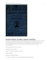 Ancient Rome The Lives of Great Men doc