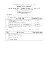 đề thi thực hành-lắp đặt thiết bị cơ khí-mã đề thi lđtbck – th (19)