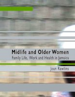 Midlife and Older Women Family Life, Work and Health in Jamaica pot