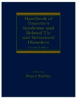 Handbook of Tourette''''s Syndrome and Related Tic and Behavioral Disorders, Second Edition doc