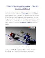 Tại sao website bị google index chậm? -