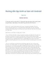 Hướng dẫn lập trình với Android - 18
