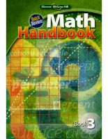 quick review math handbook, book 3