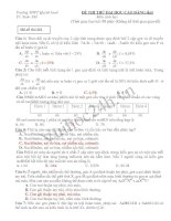 Trường THPT Quỳnh lưu 4 Mã đề thi:241 ĐỀ THI THỬ ĐẠI HỌC-CAO ĐẲNG lầnI Môn sinh học doc