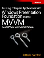 Building Enterprise Applications with Windows Presentation Foundation and the Model View ViewModel Pattern doc