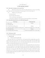 CHƯƠNG 3 CÂN BẰNG MÁY pdf