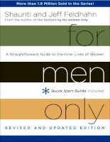 For Men Only, Revised and Updated Edition by Shaunti Feldhahn (Sneak Peek) pdf