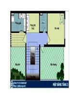 Thiết kế ngôi nhà lý tưởng diện tích 7x10m pptx