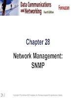 Chapter 28 Network Management: SNMP potx