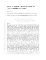 Review of Solutions to Global Warming, Air Pollution, and Energy Security doc
