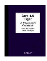 java 1.5, a developer's notebook, 2004