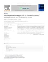 novel semiconductor materials for the development of