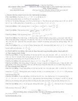 đề thi thử đại học lần 1 môn toán khối d 2014 - thpt vinh phúc